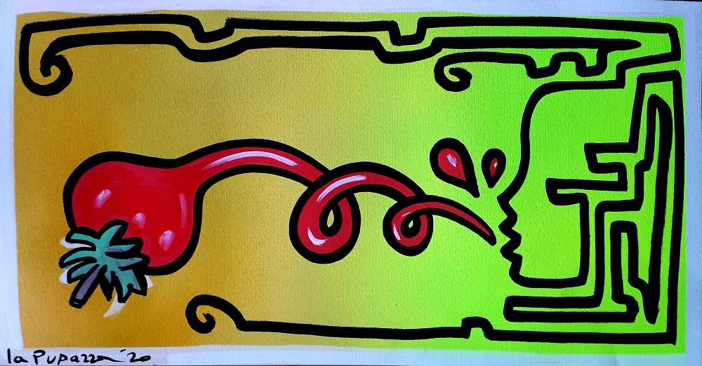 cartoline artistiche la pupazza