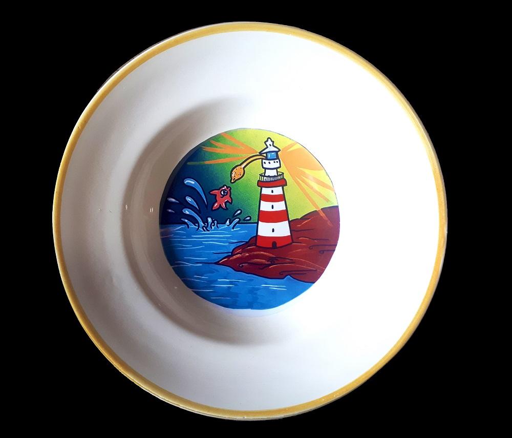 Vendita piatti ceramica decorati