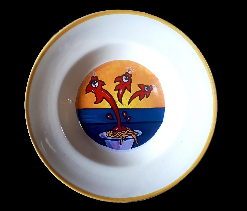 vendita online piatti ceramica decorati